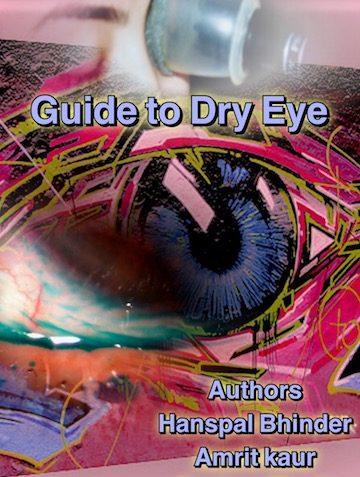 Dry eye book by Dr. Hans pal Bhinder